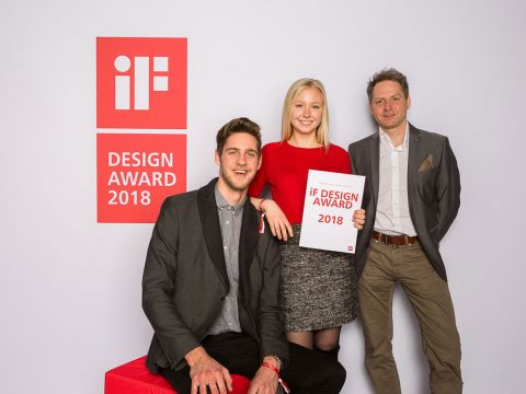 We where there! - Our team at the IF Design Award 2018